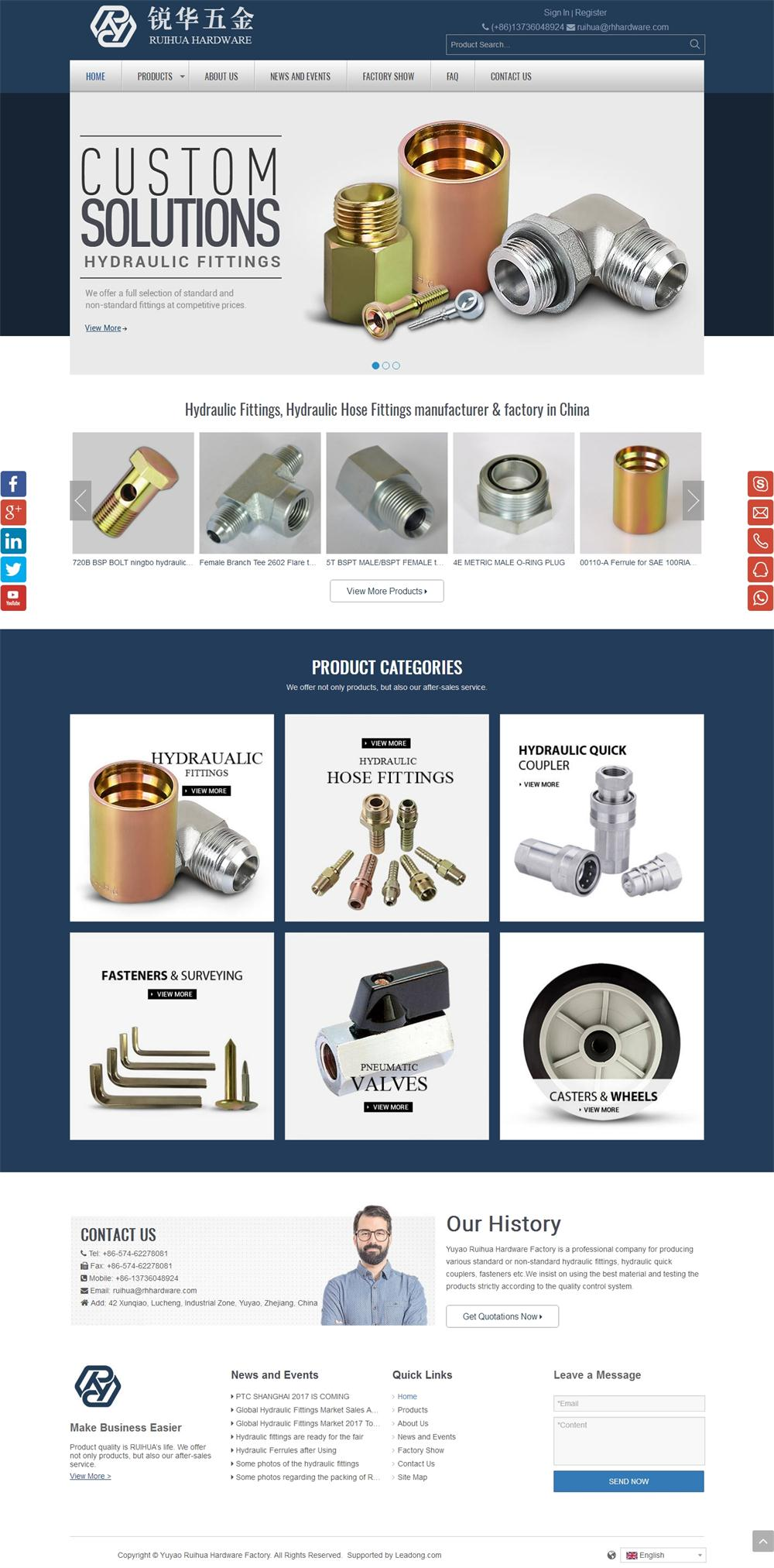 China Hydraulic Fittings and Adapters Manufacture.jpg